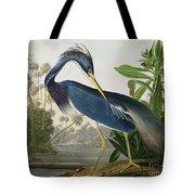 Louisiana Heron Tote Bag by John James Audubon