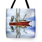 Louisiana Shrimp Boat 4 - Impasto Tote Bag