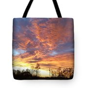 Louisiana Sunset 1 Tote Bag