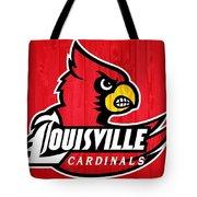 Louisville Cardinals Barn Door Tote Bag