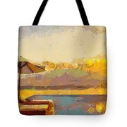 Lounging Licous Tote Bag