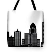 Lousivile Skyline Tote Bag