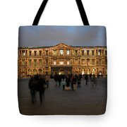 Louvre Palace, Cour Carree Tote Bag