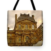 Louvre Reflection Tote Bag