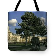 Louvre Sky Tote Bag by Milan Mirkovic
