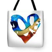 Love 6 - Heart Hearts Valentine's Day Tote Bag