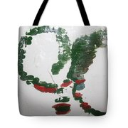 Love Abounds - Tile Tote Bag
