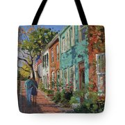 Love Along The C@o Canal Tote Bag