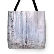 Love Amidst The Aspens Tote Bag by Kevyn Bashore