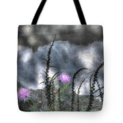 Love And Death Tote Bag by Wayne King