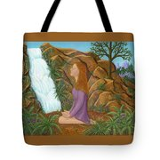 Love And Gratitude Meditation - Illustration #13 In The Infinite Song Tote Bag