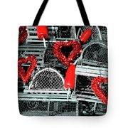 Love And Lobster Tote Bag