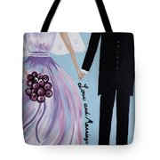 Love And Marriage Tote Bag