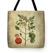 Love Apple Botanical  Tote Bag