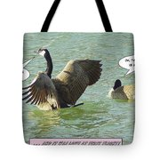 Love At First Flight Tote Bag