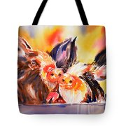 Love At First Snout Tote Bag