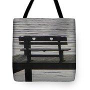 Love Bench Tote Bag