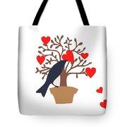 Love Bird Part 2 Tote Bag