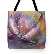 Love Bubbles Tote Bag by Carol Cavalaris
