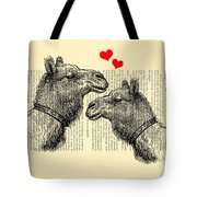 Love Camels Tote Bag