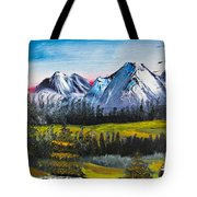 Love Can Move Mountains Tote Bag