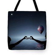 Love - Digital Art Tote Bag
