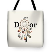 Love Dior Watercolour Dreamcatcher Tote Bag