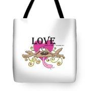 Love Endures Tote Bag