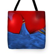 Love Flow Tote Bag