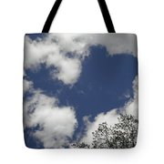Love From Above Tote Bag