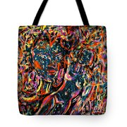 Love Graffiti Tote Bag