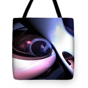 Love Grooves Abstract Tote Bag