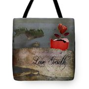 Love Growth - V2t1 Tote Bag