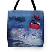 Love Growth - V2t2c3b Tote Bag
