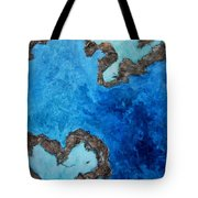 Love Heart Reef Tote Bag