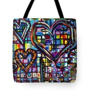 Love Hearts Tote Bag