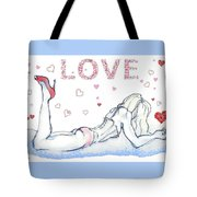 Love Hearts - Valentine's Day Tote Bag