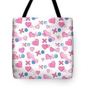 Love Hugs And Kisses Tote Bag