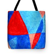 Love In Abstract Word Art Tote Bag