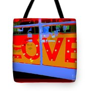 Love  In Lights Tote Bag