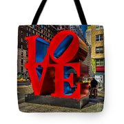 Love In Nyc Tote Bag