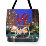 Love In Philly Tote Bag