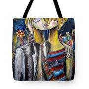 Love In The City Tote Bag