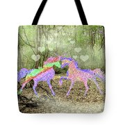 Love In The Magical Forest Tote Bag