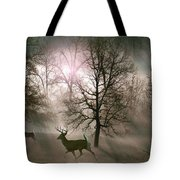 Love In The Wild Tote Bag