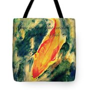 Love Is A Like A Net That Catches Heart Like A Fish Tote Bag