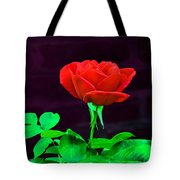 Love Is A Rose Tote Bag