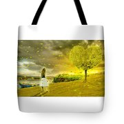 Love Is All Around Us And So The Feeling Grows Tote Bag