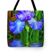 Love Is Blue 2 Tote Bag