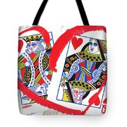 Love Is In The Cards Tote Bag